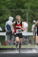 Hamilton, Ontario ---05/06/08--- Robyn Mildren of Highland in Dundas competes in the steeplechase at the 2008 OFSAA Track and Field meet in Hamilton, Ontario..GEOFF ROBINS