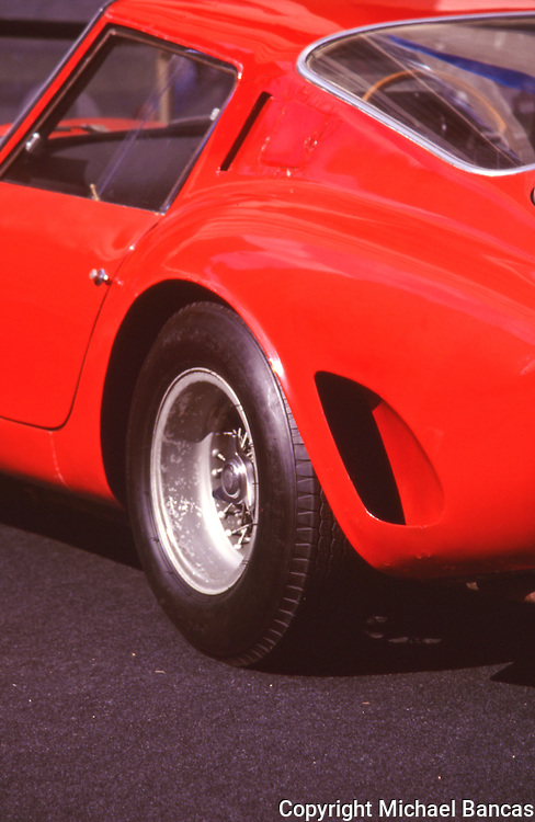 Vintage Ferrari Racing GTO at Louis Vutton Classic in Rockefeller Center