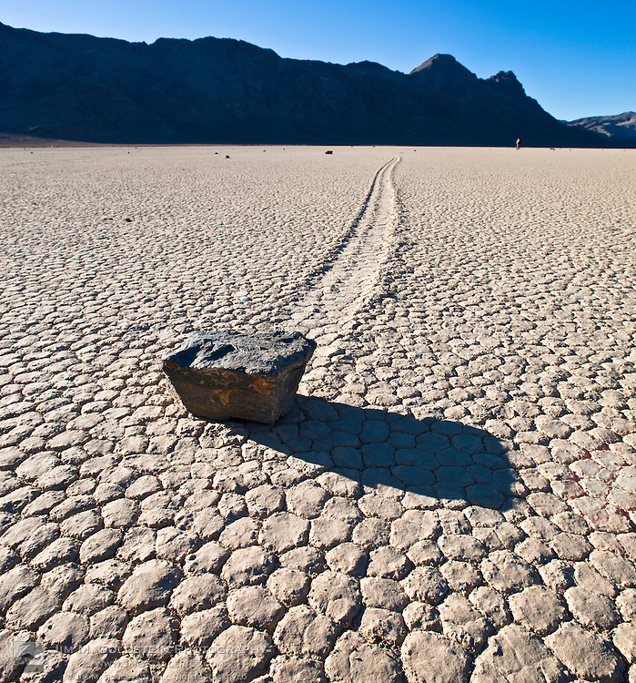 Stones on the Racetrack playa - Death Valley National Park, California