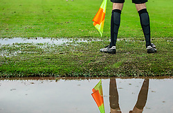 Referee during football match between NK Triglav Kranj and NK Domzale in 35th Round of Prva liga Telekom Slovenije 2018/19, on May 22nd, 2019, in Sports park Kranj, Slovenia. Photo by Vid Ponikvar / Sportida