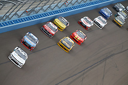 March 10, 2018 - Avondale, Arizona, United States of America - March 10, 2018 - Avondale, Arizona, USA: Tyler Reddick (9) brings his race car down the front stretch during the DC Solar 200 at ISM Raceway in Avondale, Arizona. (Credit Image: © Chris Owens Asp Inc/ASP via ZUMA Wire)
