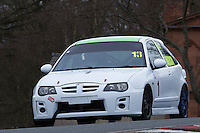 #1 Andrew ROGERSON MG ZR 1800 during Lancaster Insurance MG Owners Club Championship as part of the BARC NW - Championship Raceday  at Oulton Park, Little Budworth, Cheshire, United Kingdom. March 19 2016. World Copyright Peter Taylor/PSP. Copy of publication required for printed pictures.  Every used picture is fee-liable. http://archive.petertaylor-photographic.co.uk