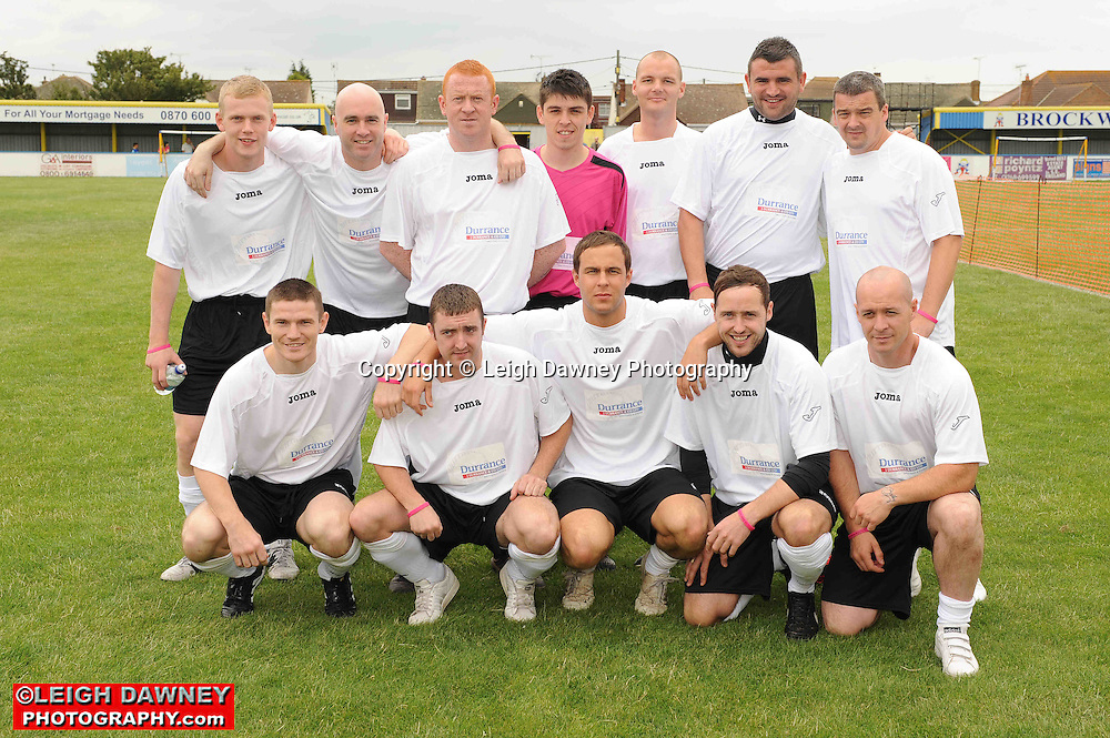 Photographs covering the Indee Rose Charity Football Tournament at Canvey Island Football Club on 25th July 2010. www.theindeerosetrust.org. Photo credit: © Leigh Dawney