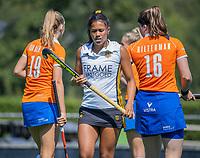 BLOEMENDAAL   -  Marise Weijschede (Vict) ,  oefenwedstrijd dames Bloemendaal-Victoria, te voorbereiding seizoen 2020-2021.   COPYRIGHT KOEN SUYK