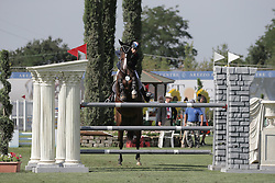 Skalli Fanny (FRA) - Candy<br /> FEI European Jumping Championship for young riders <br /> Arezzo 2014<br /> © Hippo Foto - Stefano Secchi