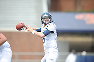 Ryan Buchanan at Mississippi's Grove Bowl controlled scrimmage at Vaught-Hemingway Stadium in Oxford, Miss. on Saturday, April 5, 2014.