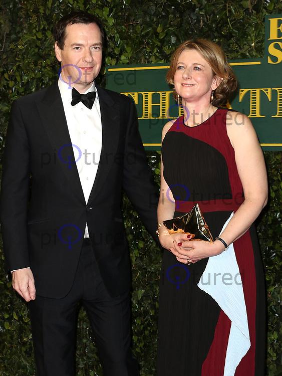 George Osborne, London Evening Standard Theatre Awards, Theatre Royal Drury Lane, London UK, 03 December 2017, Photo by Richard Goldschmidt