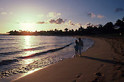 Couple, Poipu Beach, Kauai, Hawaii<br />