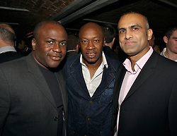 Liverpool, England - Thursday, September 27, 2007: Former Liverpool player Mark Walters and friends at the Liverpool FC.TV launch party at Babycream in Liverpool. (Pic by David Rawcliffe/Propaganda)