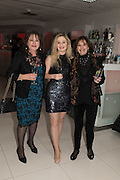 BARBARA TAYLOR; NATALIA TAYLOR; NANCY BECK; Liz Brewer Festive Celebration hosted by Daphne Mckinley Edwards chairman of the Sean Edwards , Foundation at Altitude. Millbank Tower, London SW1. 3 DECEMBER 2016.