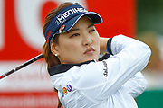 So Yeon Ry tees off during the Ricoh Women's British Open golf tournament at Royal Lytham and St Annes Golf Club, Lytham Saint Annes, United Kingdom on 3 August 2018. Picture by Simon Davies.