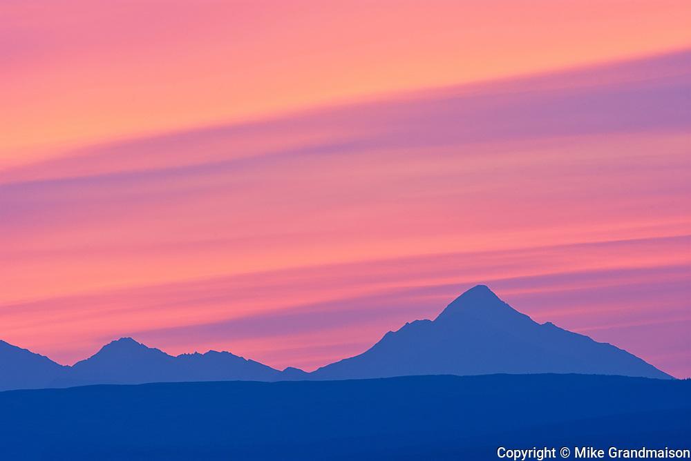Kluane Ranges, the easternmost of the St Elias Mountains. <br /> Kluane National Park<br />Yukon<br />Canada