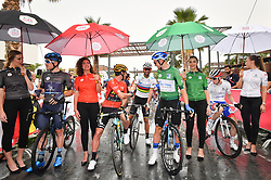 March 1, 2019 - Emirati Arabi Uniti - Foto LaPresse - Massimo Paolone.1 Marzo 2019 Emirati Arabi Uniti.Sport Ciclismo.UAE Tour 2019 - Tappa 6 - da Ajman a Jebel Jais - 180 km.Nella foto: Charles Planet (Team Novo Nordisk), Primoz Roglic (Team Jumbo - Visma), VALVERDE Alejandro (ESP) MOVISTAR TEAM, Stepan Kuriyanov (Gazprom - RusVelo), David Gaudu (Groupama - FDJ)..Photo LaPresse - Massimo Paolone.March 1, 2019 United Arab Emirates.Sport Cycling.UAE Tour 2019 - Stage 6 - Ajman to Jebel Jais - 111,8 miles.In the pic: Charles Planet (Team Novo Nordisk), Primoz Roglic (Team Jumbo - Visma), VALVERDE Alejandro (ESP) MOVISTAR TEAM, Stepan Kuriyanov (Gazprom - RusVelo), David Gaudu  (Credit Image: © Massimo Paolone/Lapresse via ZUMA Press)