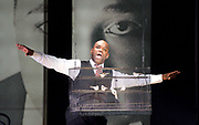Charlie Parker's Yardbird<br /> by Daniel Schnyder <br /> librettist Bridgette A. Wimberly <br /> English National Opera <br /> at Hackney Empire, London, Great Britain <br /> 7th June 2017 <br /> <br /> <br /> Lawrence Brownlee as Charlie Parker <br /> <br /> <br /> <br /> <br /> <br /> <br />  <br /> Photograph by Elliott Franks <br /> Image licensed to Elliott Franks Photography Services