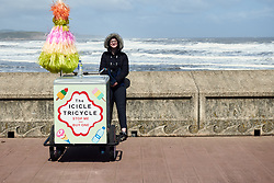 A bit cold for an ice cream at the finish of ASDA Tour de Yorkshire Women's Race 2019 - Stage 2, a 132 km road race from Bridlington to Scarborough, United Kingdom on May 4, 2019. Photo by Sean Robinson/velofocus.com