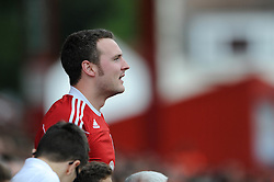 Bristol City fan - Photo mandatory by-line: Dougie Allward/JMP - Mobile: 07966 386802 - 27/09/2014 - SPORT - Football - Bristol - Ashton Gate - Bristol City v MK Dons - Sky Bet League One