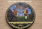 York Co., PA Historic Site, Shrewsbury Town Odd Fellows Hall