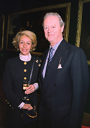 The DUKE & DUCHESS OF MARLBOROUGH, at an exhibition in London on January 7th 1998.MEK 48