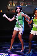 "November 22, 2009; Rancho Mirage, CA, USA; Miss Laguna Hills Teen USA Morgan Berschauer during the Miss California Teen USA 2010 Pageant at ""The Show"" at the Agua Caliente Resort & Spa. Mandatory Credit: Kyle Terada-Terada Photo"
