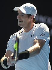 Melbourne- Australian Open Men's Singles First Round - 16 Jan 2017