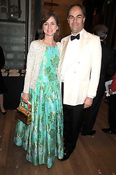 VISCOUNT & VISCOUNTESS MACKINTOSH OF HALIFAX at the Royal Academy of Art's Summer Ball held at Burlington House, Piccadilly, London on 16th June 2008.<br />