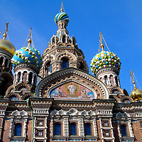 Church of Our Savior on Spilled Blood in Saint Petersburg, Russia<br />