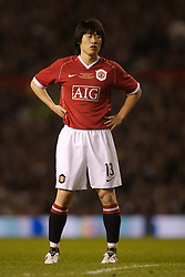 Manchester, England - Tuesday, March 13, 2007: Manchester United's Ju-sung Park during the UEFA Celebration Match against a Europe XI at Old Trafford. (Pic by David Rawcliffe/Propaganda)
