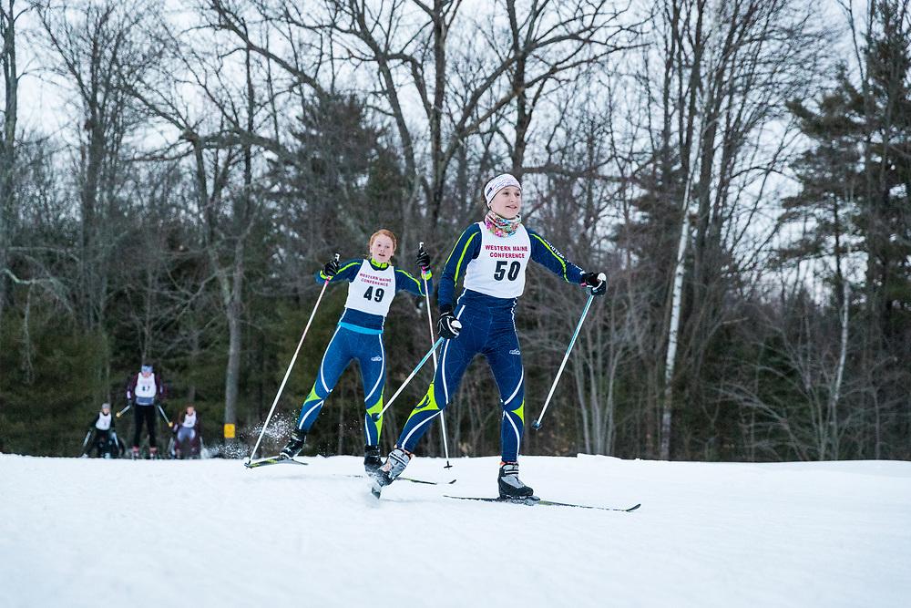 High School Nordic race<br /> Cross Country Ski