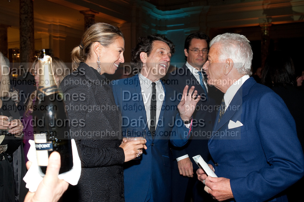 ASSIA WEBSTER; STEPHEN WEBSTER; NICKY HASLAM, Cecil Beaton private view. V and A Museum. London. 6 February 2012