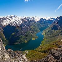 Norway in a Nutshell on the Nærøyfjord.