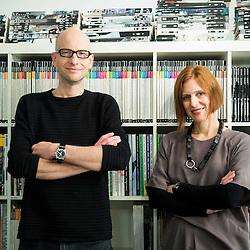 20161021: SLO, Portraits - Tina Gregoric and Aljosa Dekleva, Dekleva Gregoric Architects