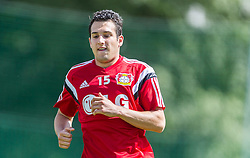 16.07.2014, Alois Latini Stadion, Zell am See, AUT, Bayer 04 Leverkusen Trainingslager, im Bild Levin Öztunali (Bayer 04 Leverkusen) // Levin Öztunali (Bayer 04 Leverkusen) during a Trainingssession of the German Bundesliga Club Bayer 04 Leverkusen at the Alois Latini Stadium, Zell am See, Austria on 2014/07/16. EXPA Pictures © 2014, PhotoCredit: EXPA/ JFK