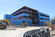 Construction on the Mandarin Chinese Language Immersion Magnet School is well underway in the Galleria area. The new 119,000-square-foot three-story building will feature flexible learning spaces and is designed around the themes of the sun and the moon. The new school is slated to open in August 2016.