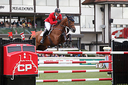 Mathy Francois Jr, (BEL), Polinska des Isles <br /> CP International Grand Prix presented by Rolex<br /> Spruce Meadows Masters - Calgary 2015<br /> © Hippo Foto - Dirk Caremans<br /> 13/09/15