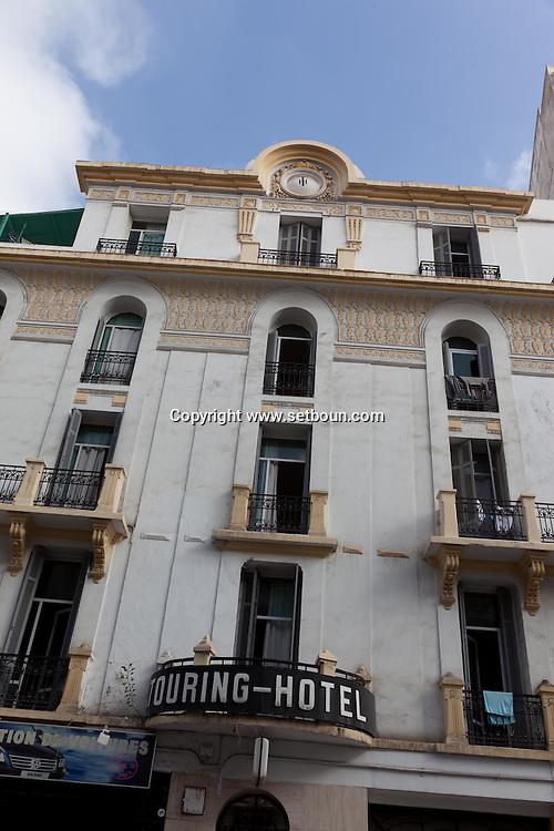 = art deco architecture, casablanca morocco +