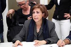 TERREMOTO NEL FERRARESE 2012: ASSEMBLEA FORZE DELL'ORDINE IN PREFETTURA. IL PREFETTO DI FERRARA PROVVIDENZA RAIMONDO
