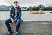 Florentijn Hofman - 'HippopoThames' a 21-metre-long hippo sculpture, by Dutch artist Florentijn Hofman (best known for his Rubber Duck installation) is towed upriver to Nine Elms on the South Bank. It is his first UK commission Stepped access to the foreshore, near St George's Tower,  will be available for three hours a day at low tide throughout September.