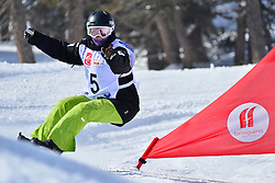 Europa Cup Finals Banked Slalom, BADENHORST Joany, AUS at the 2016 IPC Snowboard Europa Cup Finals and World Cup