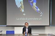 """Marco Crespi<br /> Conferenza Stampa Presentazione Progetto """"Ragazze in Tiro""""<br /> FIP 2018<br /> Milano, 30/03/2018<br /> Foto F. Bertani / Ciamillo - Castoria"""