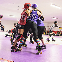 2016-11-26 Rainy City Bet Lynch Mob vs Sunderland Roller Derby