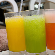 Beverages on Gym. Cancun, Quintana Roo. Mexico