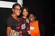 Step Up alum Kalen Israel, actress Zoe Saldana, and Step Up teen student