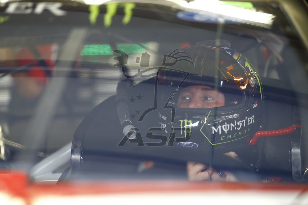 July 14, 2017 - Loudon, NH, USA: Kurt Busch (41) straps into his car to practice for the Overton's 301 at New Hampshire Motor Speedway in Loudon, NH.