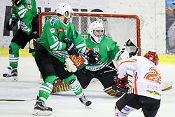 Tilen Spreitzer of Olimpija during ice hockey match between HDD Olimpija Ljubljana and HDD SIJ Acroni Jesenice in Final of Slovenian League 2016/17, on April 6, 2017 in Hala Tivoli, Ljubljana, Slovenia. Photo by Matic Klansek Velej/ Sportida