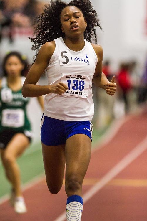 ECAC Indoor Track & Field Championships:  womens 200 prelims, Latazah Coleman, University of Delaware Latazah Coleman, sprints, University of Delaware