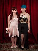 Jordana and Alessandra at the Hayward Gay Prom.