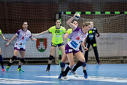 during handball match between RK Krim Mercator and FC Midtjylland in Main Round of Women's EHF Champions League 2017/18 , on January 27, 2018 in Sports hall Kodeljevo, Ljubljana, Slovenia. Photo by Urban Urbanc / Sportida