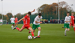 WREXHAM, WALES - Wednesday, October 30, 2019: Wales' Christopher Popov during the 2019 Victory Shield match between Wales and Republic of Ireland at Colliers Park. (Pic by David Rawcliffe/Propaganda)