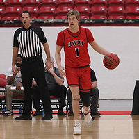 Men's Basketball: Muskingum University Muskies vs. University of Wisconsin-River Falls Falcons