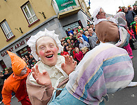 The best  Galway St Patrick's Day Parade in years with a hugely international feel to it . photo:Andrew Downes. Photo:Andrew Downes